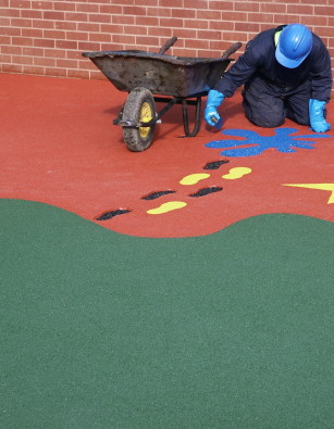 Wet Pour Rubber Crumb / Rubber Mulch